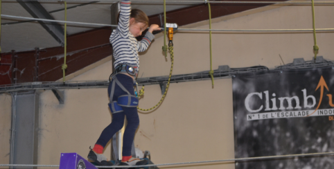 Stage escalade enfant Climb Up Dijon - Vacances
